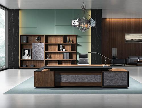 老板桌、书柜